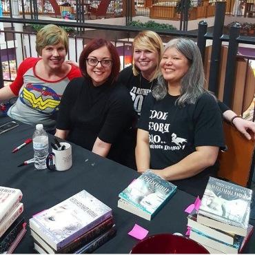 Gwenda Bond, Victoria Schwab, & Julie Kagawa