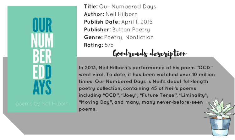 our numbered days_header_review (1)
