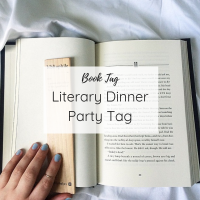 Book Tag | Literary Dinner Party Tag